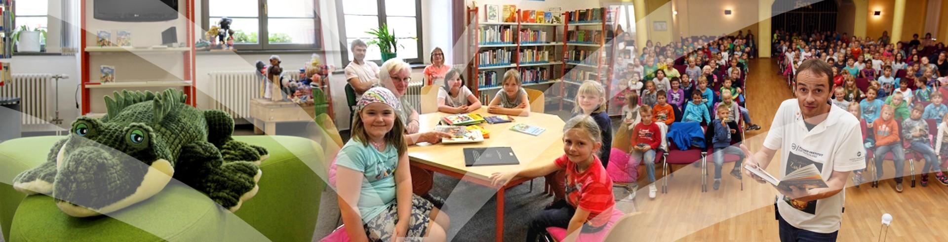 Kulturbetrieb Wurzen Folgeseite Banner Bibliothek