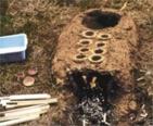 späthallstatt-frühlatènezeitlicher Salzsiedeofen©KulturBetrieb der Stadt Wurzen
